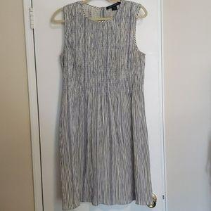 French Connection Seersucker summer dress